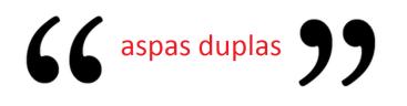 aspas-duplas